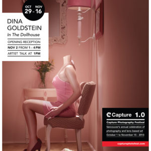 In The Dollhouse Capture 1.0 festival 2016 exhibition poster by photographer Dina Goldstein limited edition /25 signed posters for sale online.