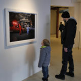 Instillation image from Gods Of suburbia Montreal 2020 Art Mur Gallery