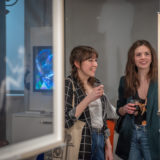 image from exhibition opening Snapshots From The Garden Of Eden Montreal Jewish Museum Montreal 2020