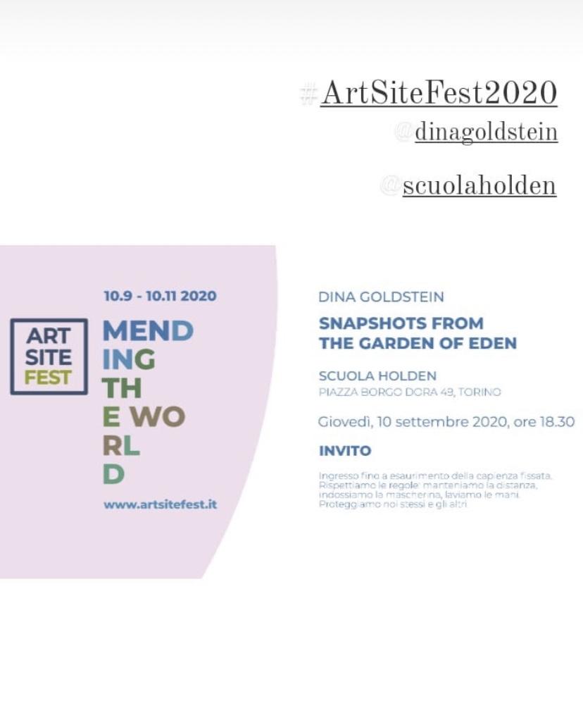 Artsite Italy Exhibition Snapshots From The Garden Of Eden by Dina Goldstein